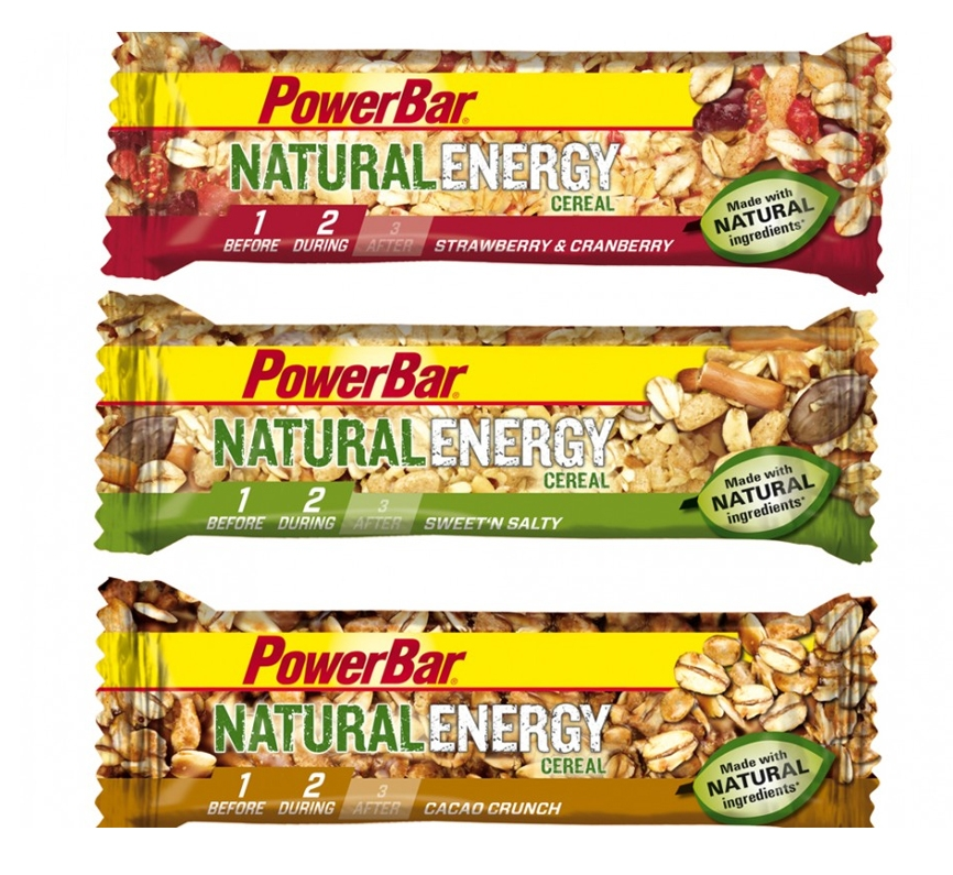 PowerBar Natural Energy Bar Strawberry & Cranberry 40g